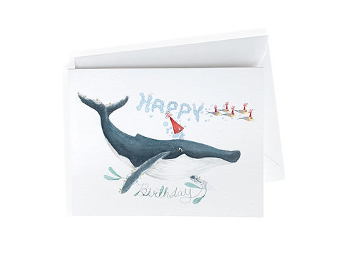 Whale Birthday Wishes