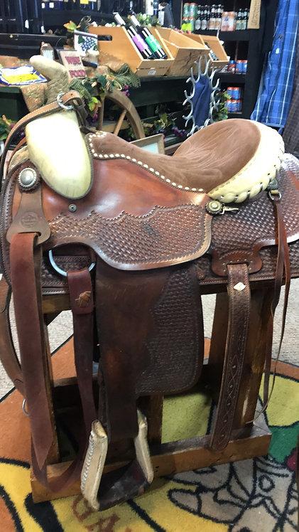Billy Joe Rogers Roping Saddle