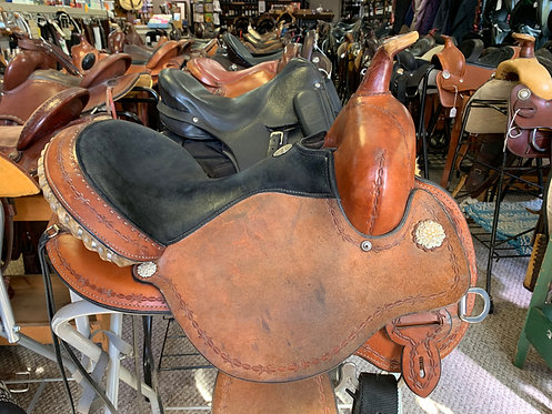 Circle Y Barrel Saddle