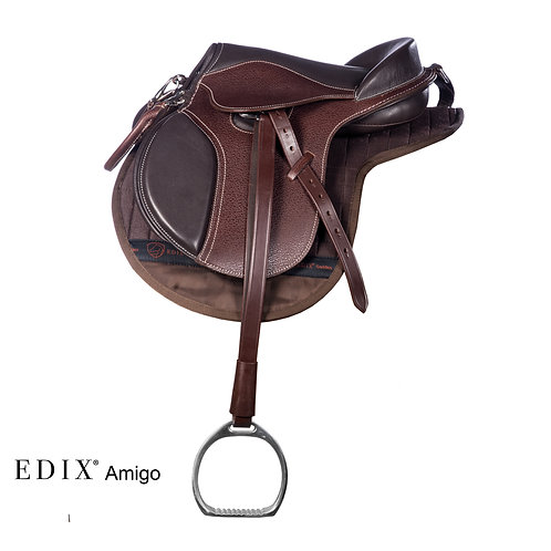 EDIX® Amigo Treeless Child's Saddle