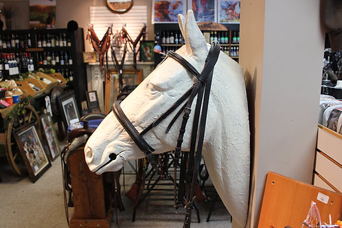 Used Dressage Bridle #16496