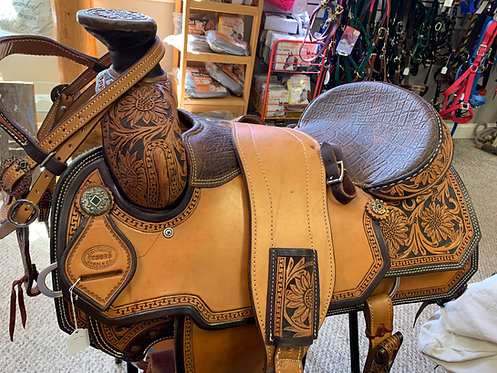 Corriente Western Saddle