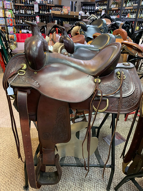 Circle Y Carlsbad Saddle