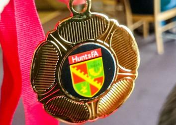 Hunts FA Tournament Winners