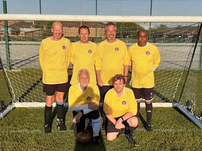 Friendly: Stamford Strollers 0:0 Harborough Hornets Over 55's