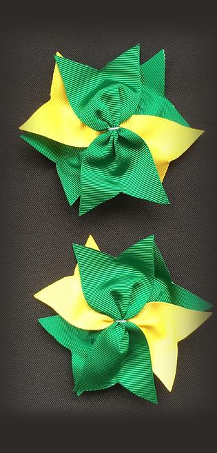 Star Sprig Bows (Pair)