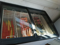 Ice Cream Fridge Ready To Go