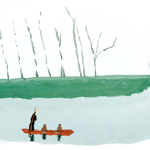 Boatman Cambridgeshire