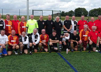 Stamford Strollers v Long Bennington Walking Football Round Robin July 3rd 2016