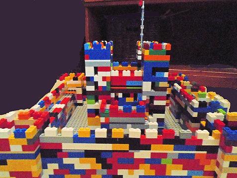 creative LEGO Medieval castle
