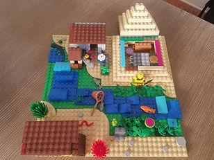Lego Egyptian Village a Brooke creation