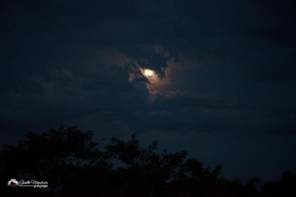 A lua no dia do parto