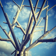 TUBE TREE - 5 M HEIGH INSTALLATION