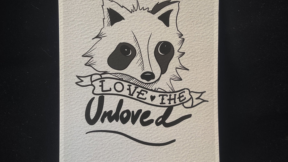 Love the Unloved Racco 5x7