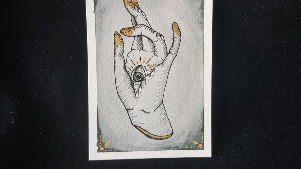 All Seeing Hand 4x6