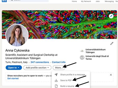 Jak stworzyć CV w 5 sekund i czemu warto mieć LinkedIna