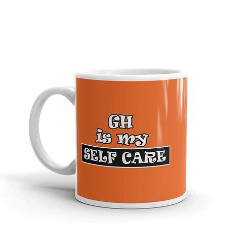 GH Is My Self Care Mug - Orange