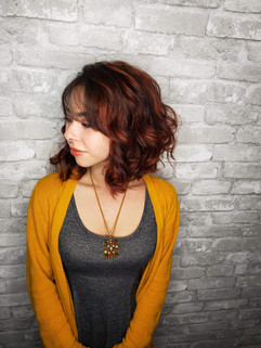 Rosina Luca Portfolio - hair color