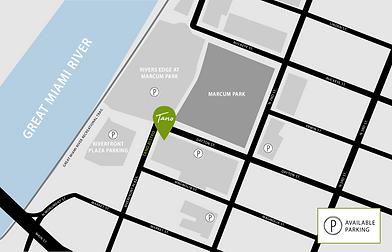 Tano Hamilton map + parking Rectangle HR