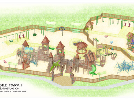 Castle Park II - how our community came together to build a playground with purpose