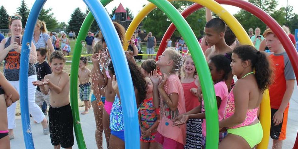 Summer Send Off at the Splash Pad