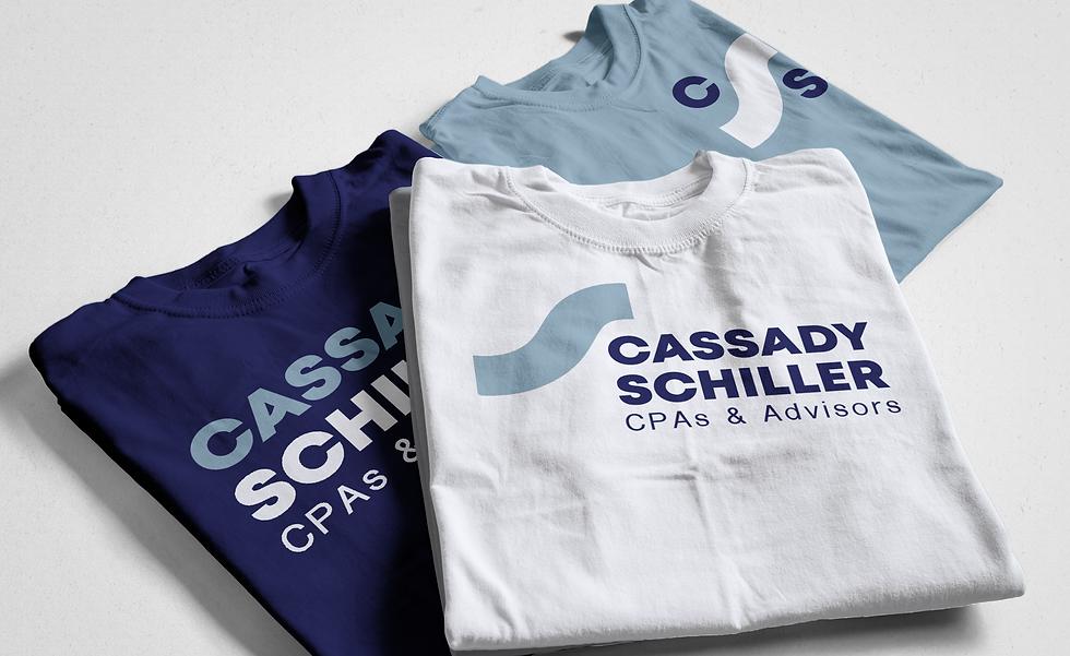Cassady Schiller branded apparel