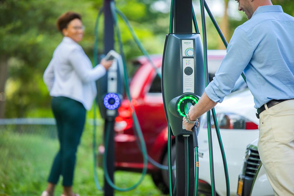 Electric Vehicle charging stations, donovan energy, cincinnati