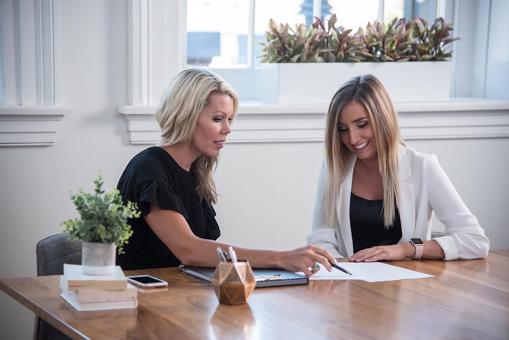 Tara Morris, Erica Helcher, Team at Ellie Brands