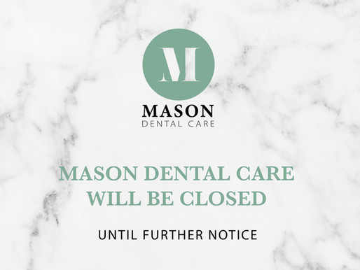 Dental Practices Suspended in the wake of the COVID-19 healthcare crisis