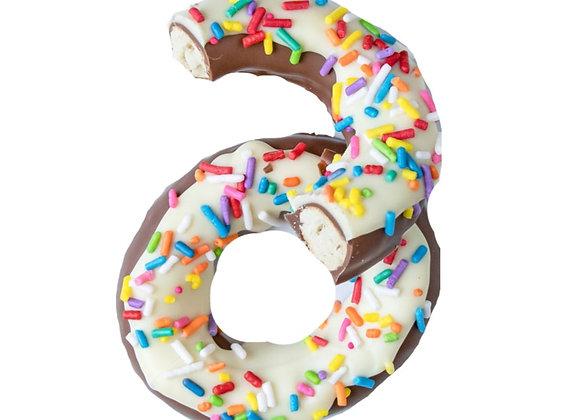 Chocolate Pretzel Donuts