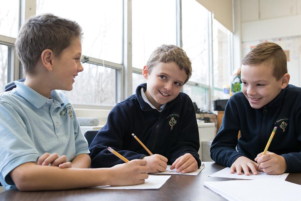 St. Columban School, 4th Grade Students, Loveland