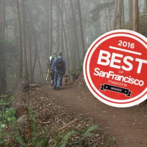 "San Francisco's ""Best City Hike"" is Mount Sutro"