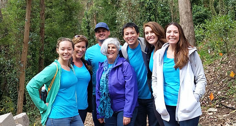 Volunteer on Mount Sutro with Sutro Stewards with your office team
