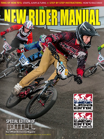 USA BMX New Rider Manual