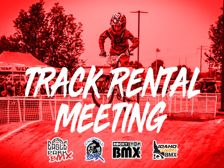 Track Rental Meeting