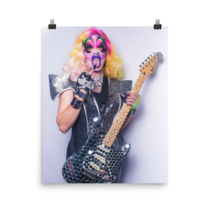 Lady J 'Glam Rock' Print