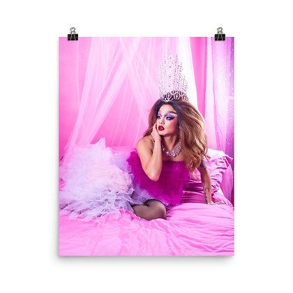 Maja Jera 'Pink' Print
