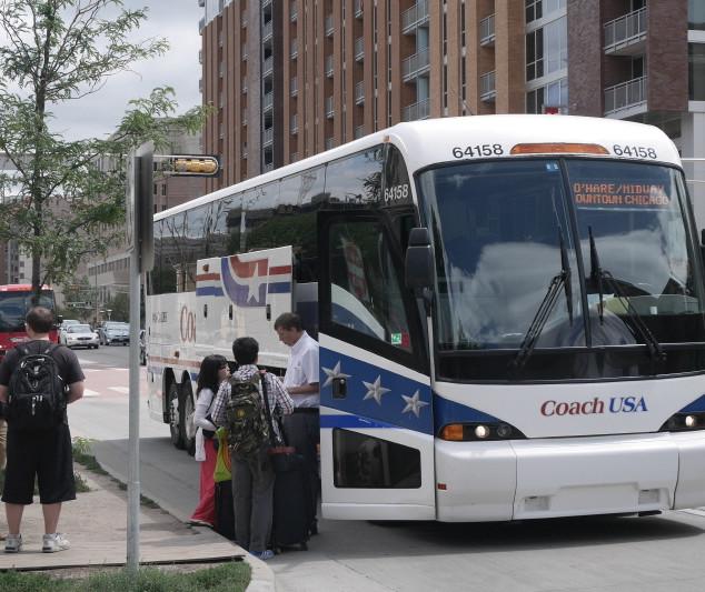 시카고 가는 버스