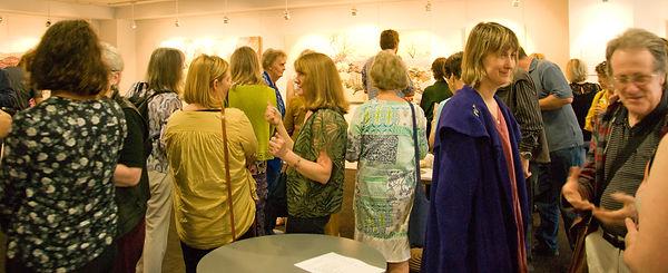 Art Exhibition Opening night