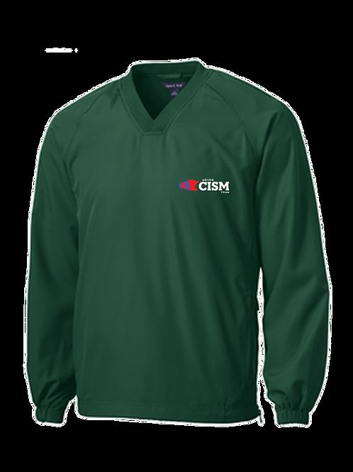 Sport-Tek® V-Neck Raglan Wind Shirt JST72