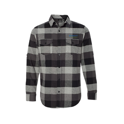 Burnside - Yarn-Dyed Long Sleeve Flannel Shirt - 8210