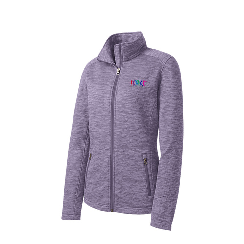 TCLL L231 PA® Ladies Digi Stripe Fleece Jacket