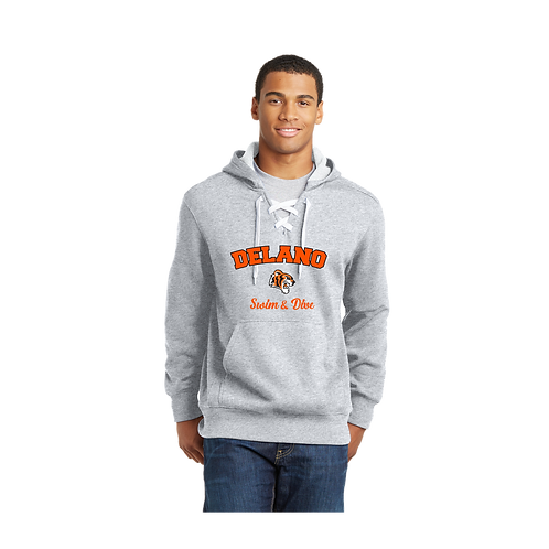 ST271 Sport-Tek® Lace Up Pullover Hooded Sweatshirt