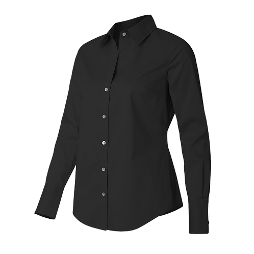 Calvin Klein - Women's Cotton Stretch Shirt - 13CK018