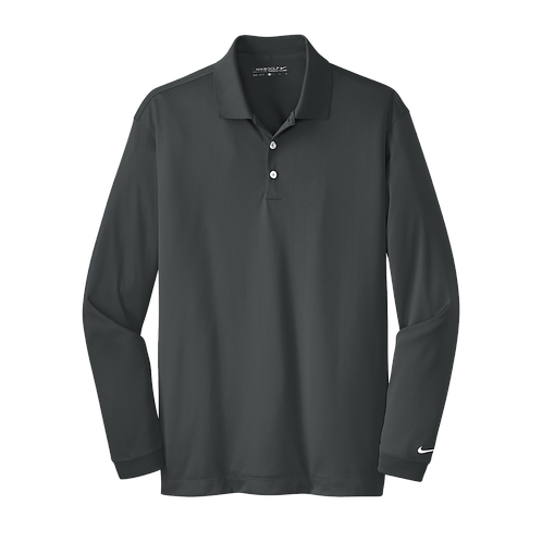466364  Nike Long Sleeve Dri-FIT Stretch Tech Polo