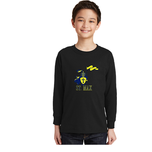 5400B Gildan® Youth 100% Cotton Long Sleeve T-Shirt