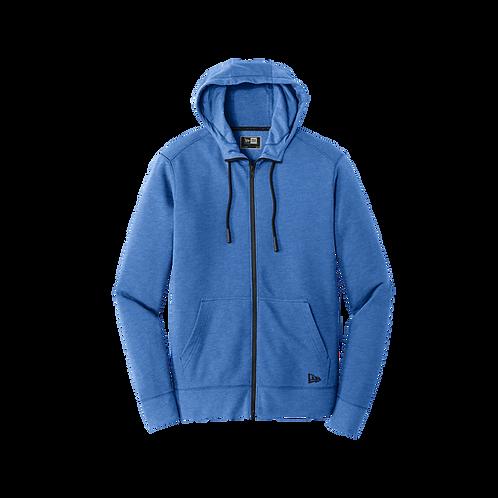 NEA511 New Era® Tri-Blend Fleece Full-Zip Hoodie