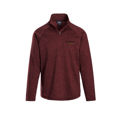 CL-39 ALPHA HEATHERED 1/4-ZIP PULLOVER