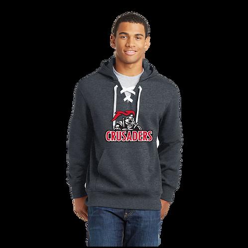 ST271  Sport-Tek® Lace Up Pullover Hooded Sweatshirt