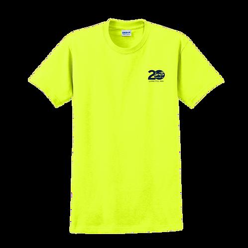 2000Gildan® - Ultra Cotton® 100% Cotton T-Shirt - Safety Green